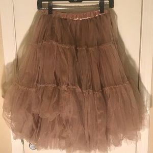 Caramel Tutu Skirt